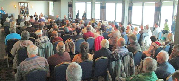 A full house at the Niagara Falls Landowner Association's Municipal Law Seminar