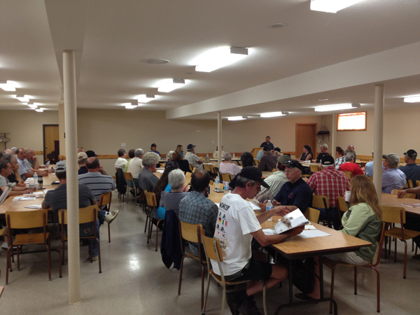 First meeting of the Saugeen Regional Landowners Association