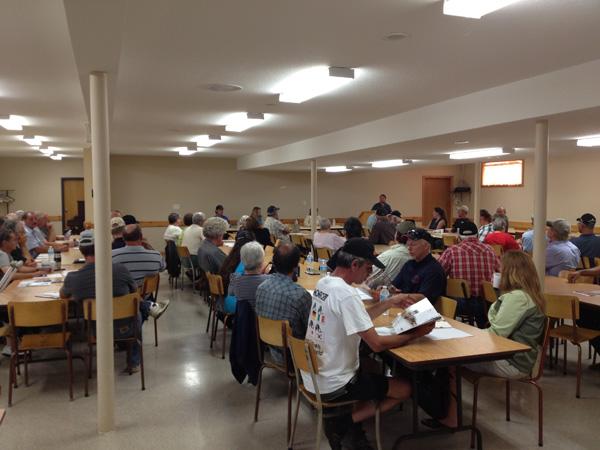 First meeting of the Saugeen Regional Landowners Association