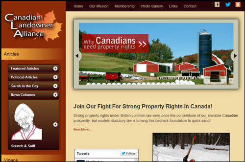 canadian-landowner-alliance-website